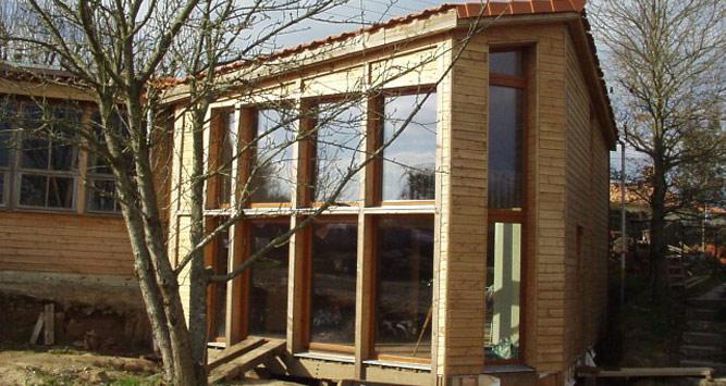 Maison bois nantes finest maison with maison bois nantes for Maison container nantes